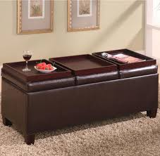 Build An Ottoman Ottoman With Tray Leather Different Styles Of Ottoman Build