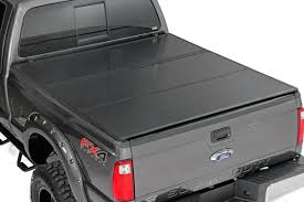 Hard Tri Fold Bed Cover for 1999 2016 Ford F 250 350 Super Duty
