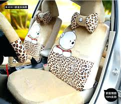 car seat leopard print seat covers for car whole funky the pooh universal auto