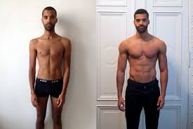 Image result for skinny to well built transformation