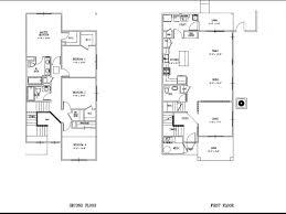 Bedroom Home Floor Plans Plan Hawks Homes Manufactured Modular 4 Bedroom Duplex Floor Plans