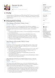 Sample Office Manager Resumes Office Manager Resume Sample Resumeviking Com