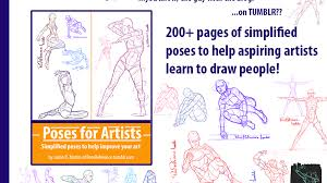 Poses For Artists 200 Pages Of Poses Art Book By Justin Martin