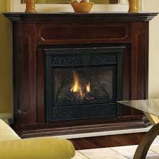 vent free gas fireplace with mantel s natural and