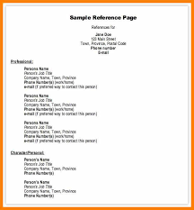 Examples Of References For Resume 100 references list example designer invoice 66