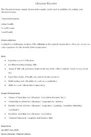 Sample Library Assistant Resume Library Assistant Resume