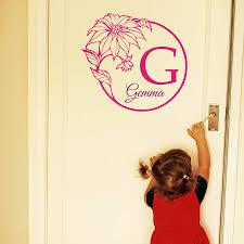 Small Picture baby girl name wall stickers by wall art quotes designs by gemma