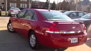 2008 Chevy Impala 4 dr Lt red an ready Sycamore IL near Waterman ...