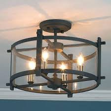 home office ceiling lighting. Home Office Lighting Fixtures Clearly Modern Semi Flush Ceiling Light Hallway Depot