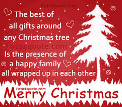 best greeting christmas quote with card