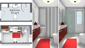 Bathroom Planner RoomSketcher Magnificent Design Bathroom Floor Plan