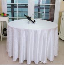 table cloth table cover round for banquet wedding party decoration tables satin fabric table clothing wedding tablecloth home textile wt021 90 inch round