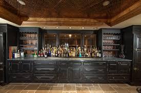 basement bar. Custom Built Home Basement Bar Traditional-home-bar D