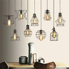 metal lamp shade replacement hanging lamp shades retro industry metal pendant lamps holder 3 metal pendant replacement shade