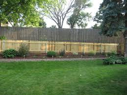 Vinyl Privacy Fence Ideas Backyardprivacy For Backyard Throughout Decorating