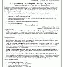 Sales Representative Resume Samples Inspiration Outside Sales Representative Maintenance Janitorial Modern