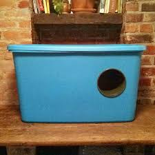 easy diy shelter made from a flowerpot