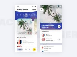 Vacation Planner Online Travel Activity Planner App By Cmarix Technolabs On Dribbble