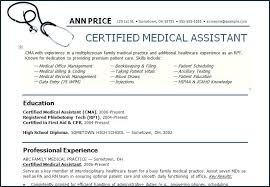 Duties Of A Medical Assistant For A Resumes Medical Assistant Job Description Resume Socialum Co