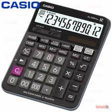 CASİO DJ-120D 12 HANE HESAP MAKİNESİ 300 İLERİ GERİ İŞLEM KONTROL Fiyatları  ve Özellikleri