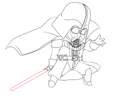 Small Picture Darth Vader Coloring Pages to Print for Star Wars Lovers
