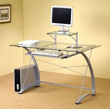 gallery contemporary glass office desk cool gallery for clear office desk designs amazing home office desktop computer