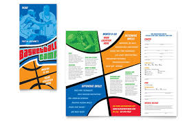 basketball training flyer template basketball sports camp brochure template design