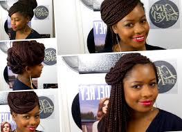 Model De Coiffure Afro Avec Meche Ezona Boutique