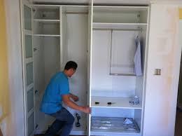 Mirror Closet Doors Pax Wardrobe Clothes Cabinet Bedroom Armoire ...