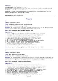 Oracle Erp Manufacturing Functional Consultant Resumes And Cover