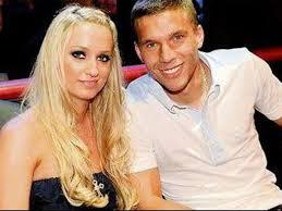 Lukas Podolski Frau Monika Ist Seine Jugendliebe