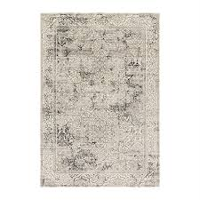 loloi kingston ivory grey indoor distressed area rug common 12 x 15