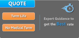 Term Life Insurance Quotes No Medical Exam New TERM LIFE INSURANCE QUOTE Compare Affordable Rates