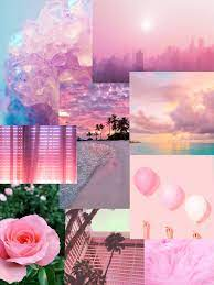 pink aesthetic wallpaper collage Image ...