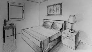 Drawn Living Room Bedroom Pencil And In Color Drawn Drawn Living