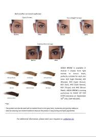 makeup forever aqua brow while you on earth aqua brow by make up for ever press release