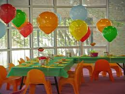 colorful house kids birthday party decorating ideas how to make