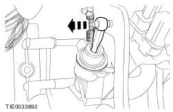 ford workshop manuals > transit tourneo connect  remove the clutch master cylinder