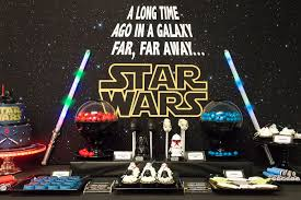 star wars themed birthday party ideas