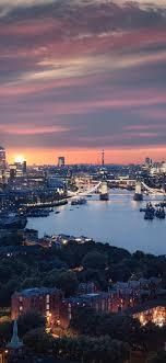 1125x2436 Beautiful London City View 8k ...