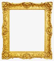 gold photo frame frame clipart french photo frame frame word png and psd