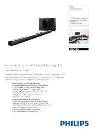 HTL7140B/12 Philips Soundbar speaker