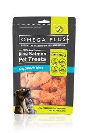 Omega Plus <b>Pet</b> Treat King <b>Salmon Bites</b> - Omega Plus Petfoods