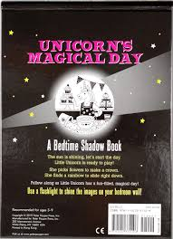 Unicorns Magical Day Bedtime Shadow Book Inc Peter Pauper