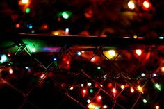 chain link fence wallpaper. Lights On Chain Link Fence Wallpaper S