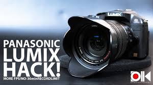 Panasonic Lumix HACK ! | G6 | G70
