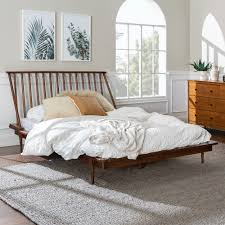 Carson Carrington Blaney Queen Solid Pine Wooden Spindle Bed