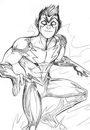 Small Picture 12 Pics Of Flash Comic Book Coloring Pages DC Comics Flash