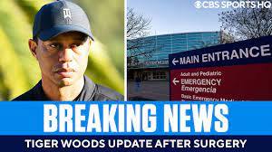Tiger Woods Update: Golfer 'awake, responsive' after extensive right leg  surgery