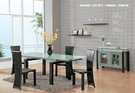 modern glass dining room sets. Modern Glass Dining Room Sets T